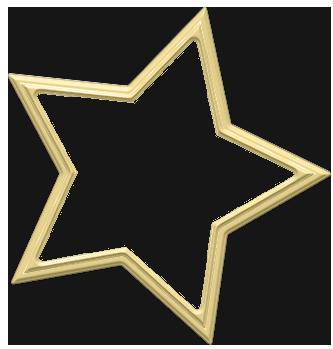 Transparent Star Decoration Clip Art Free Clip Art Star Decorations