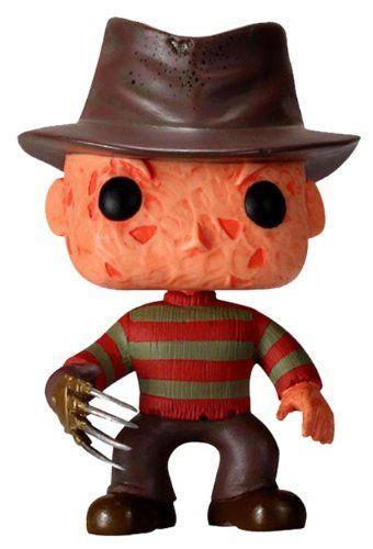 Adoraba A Freddy De Pequeña Figura De Vinilo Pesadilla En Elm Street Muñecos Cabezones