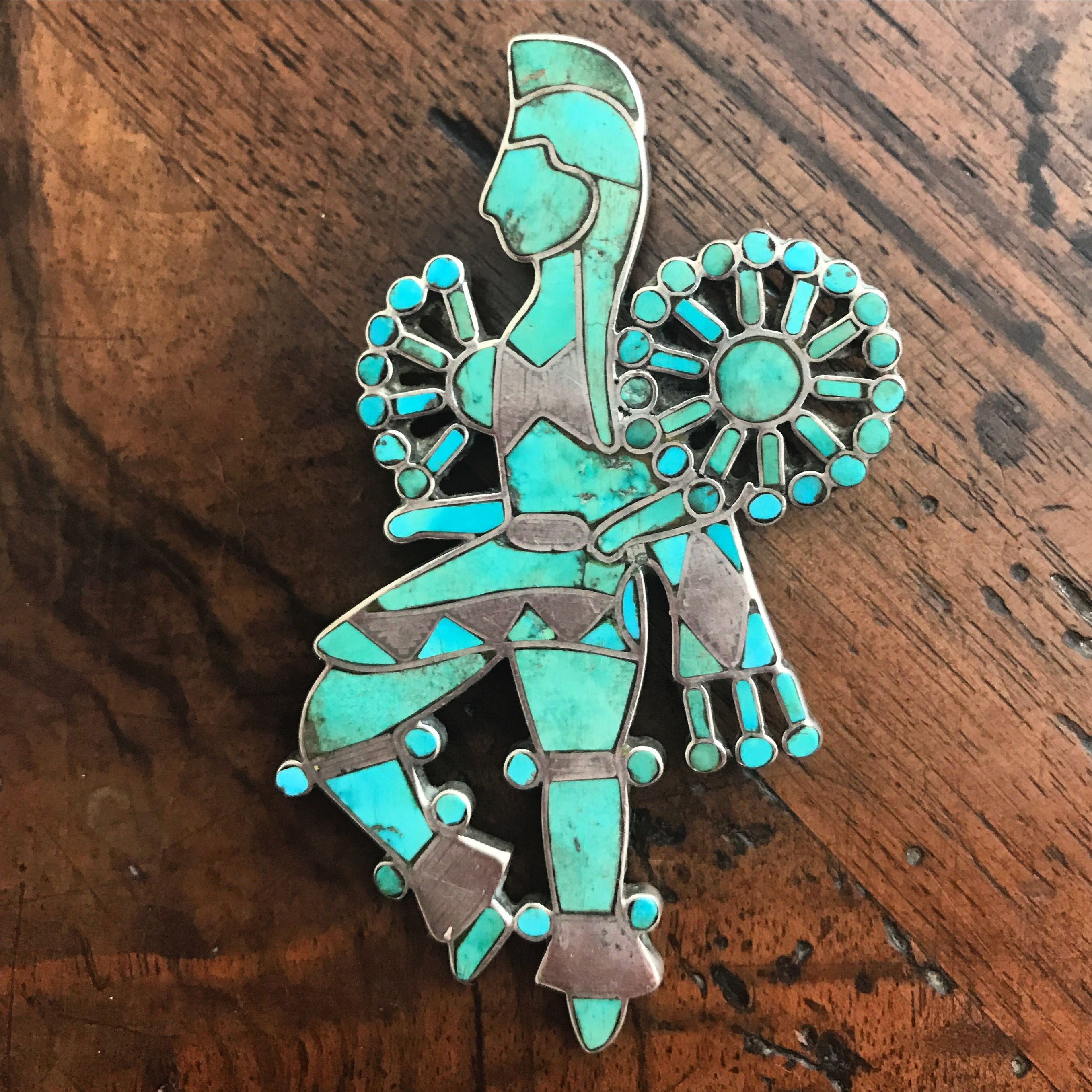 pin turquoise print zuni pendants silver paw and sterling necklaces native american bear inlaid pendant