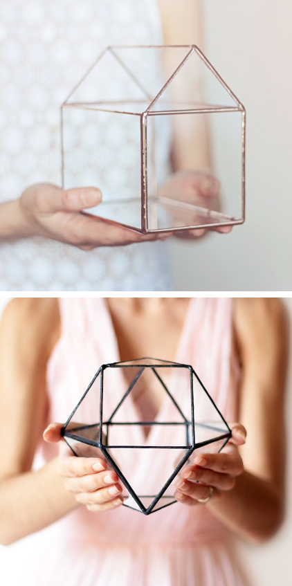 Geometric Terrariums by Waen