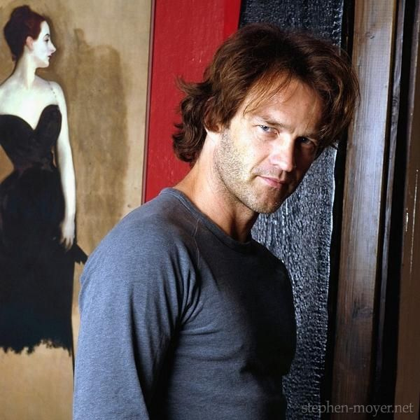 Stephen Moyer -Stephen Moyer at home in London - David Poole 14