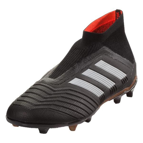 the latest 4e26c 0434f adidas Youth Predator 18+ FG Junior Soccer Cleat (Black)