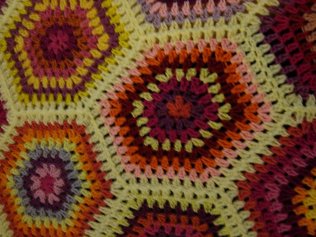 Ravelry: Project Gallery for hex granny square pattern by Wendy ...