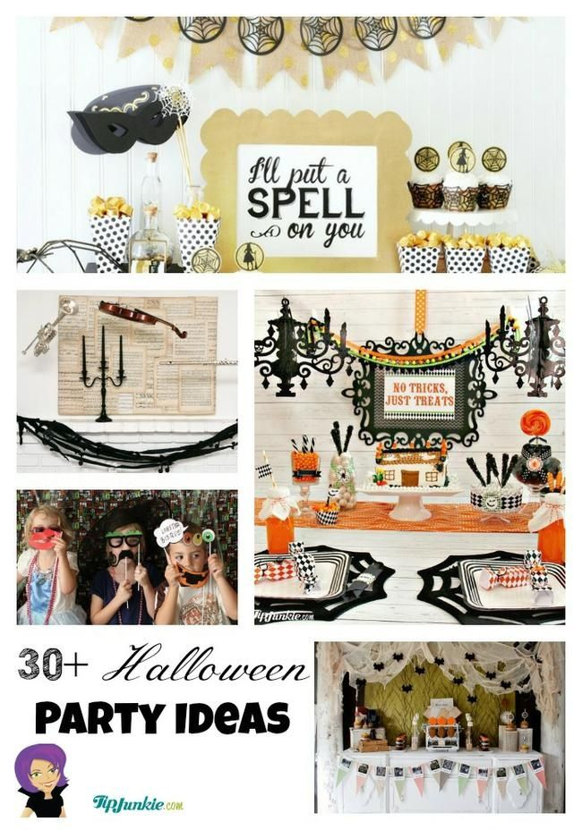 Halloween Party Ideas #BHGREParty BHGRE Party Pinterest - halloween party ideas for kids