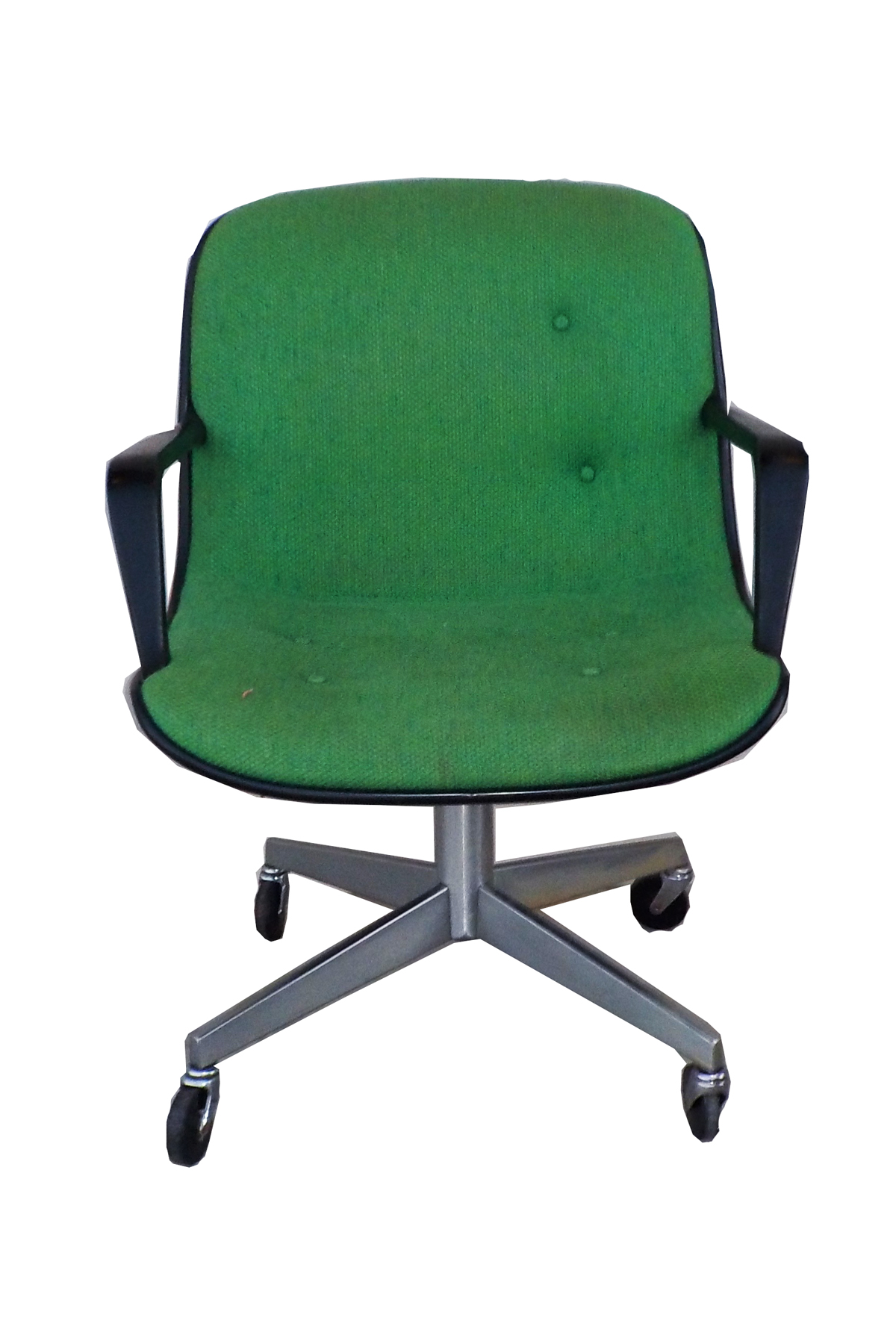 Beau MCM Green Vintage Office Chair By Steelcase