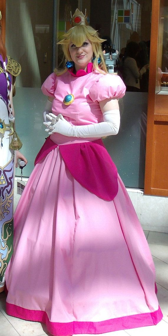Princess Peach Cosplay Dress By BeCOSweCan On Etsy | Cosplay Already Made | Pinterest | Princess ...