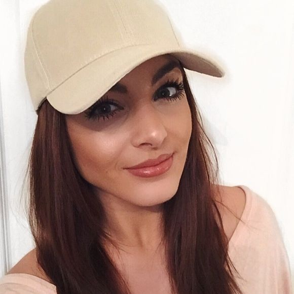 Beige suede baseball cap Coming soon Accessories Hats