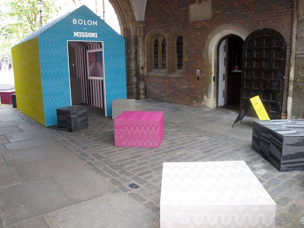 Homebuildlife: Bolon at Clerkenwell Design Week 2012