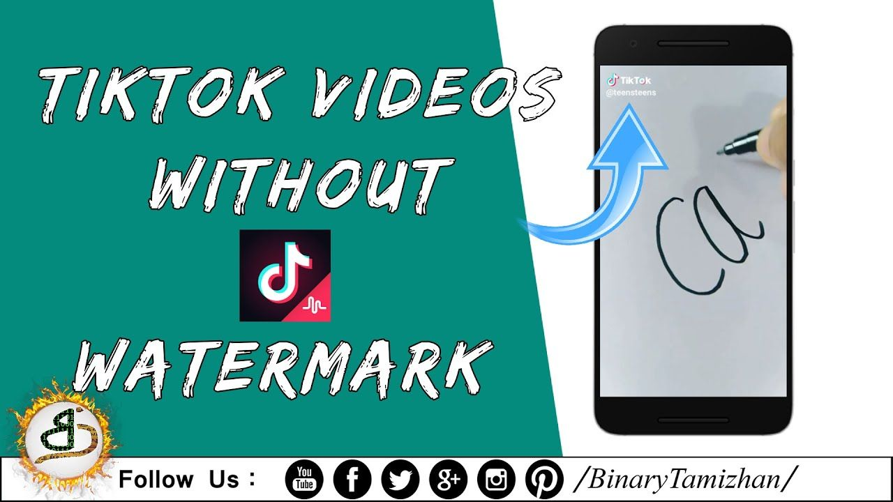Tiktok Musical Ly Videos Download Without Watermark Binary Tami Videos Watermark Music