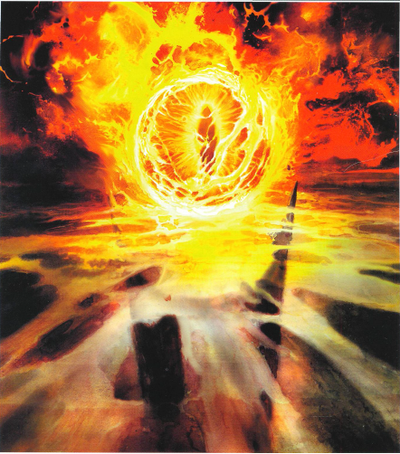 The Eye Of Sauron Also Known As The Great Eye The Eye Of Barad Dur The Red Eye The Lidless Eye And The Evil Eye The Ter Abstract Artwork Artwork Abstract