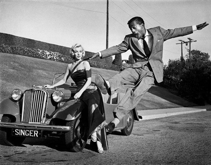 Marilyn Monroe et Samy Davis Jr