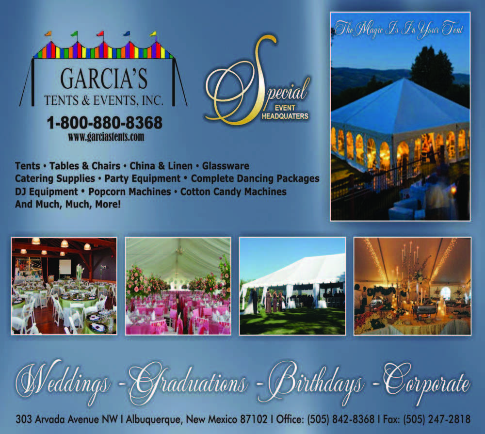 Garciau0027s Tents and Events - Event Planners in New Mexico - #1 Event Vendors # : garcias tents - memphite.com