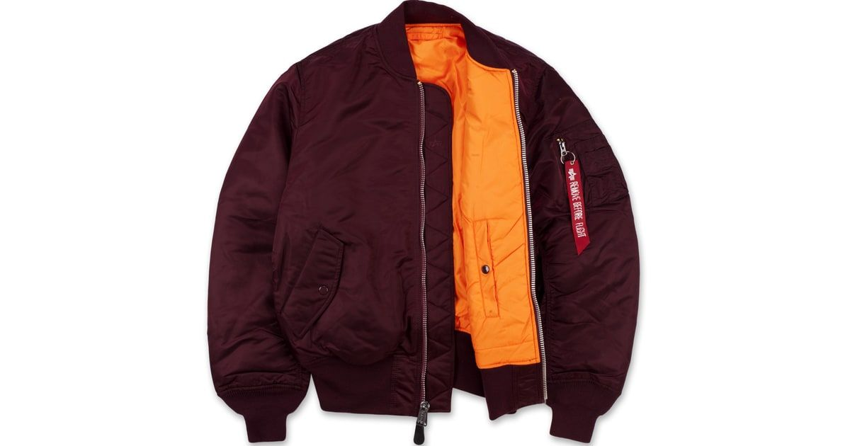cf22da17506 Alpha Industries MA-1 Flight Jacket featured in Men s Journal s  Bring on  the Bomber Jackets.