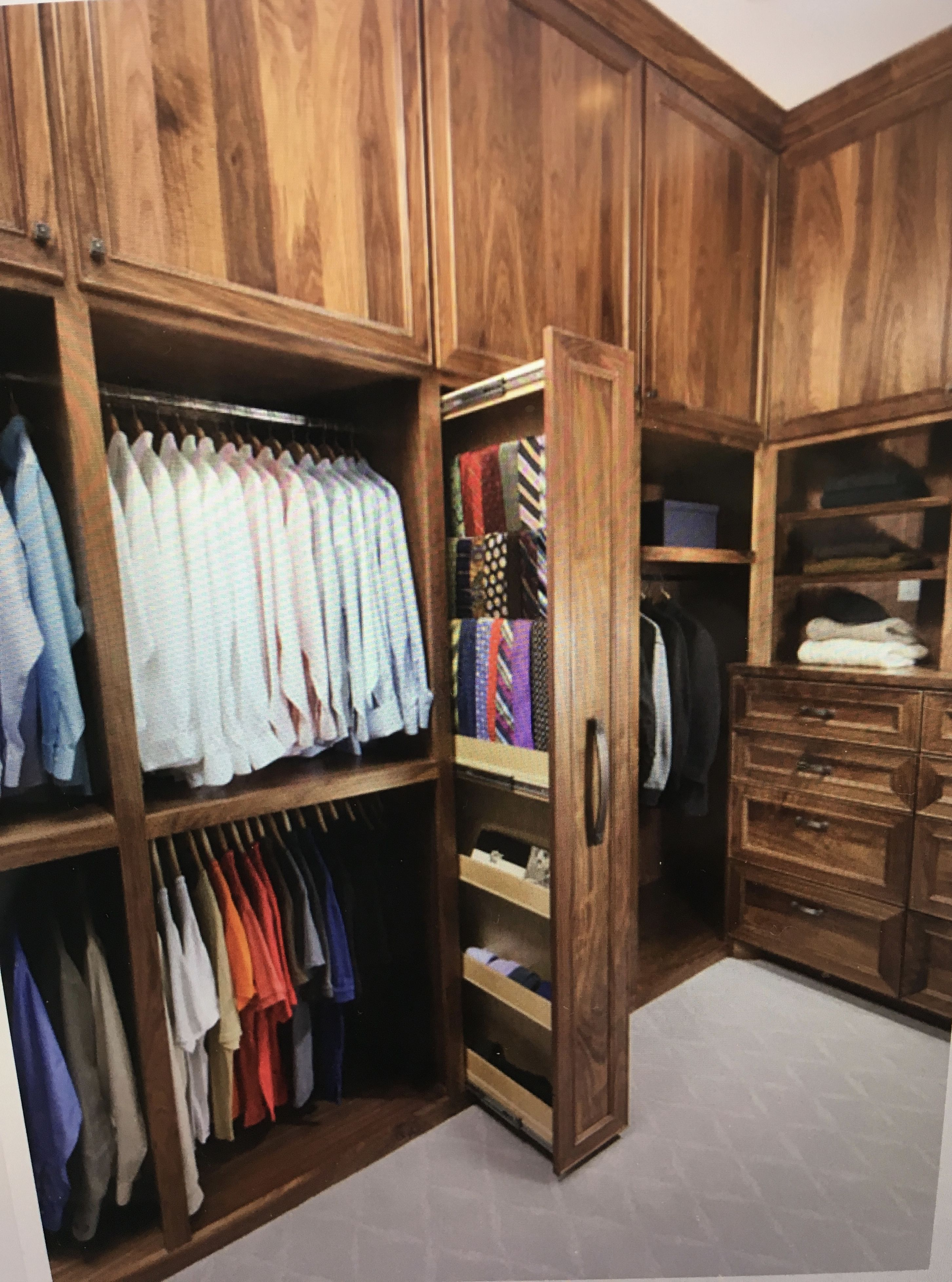 Closet Tie Rack Closet Remodel Closet Designs Wardrobe Room
