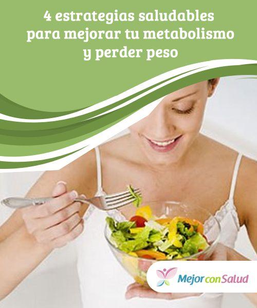 4 estrategias saludables para acelerar el metabolismo y..