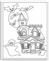 Halloween Coloring Pages On Bookinfo