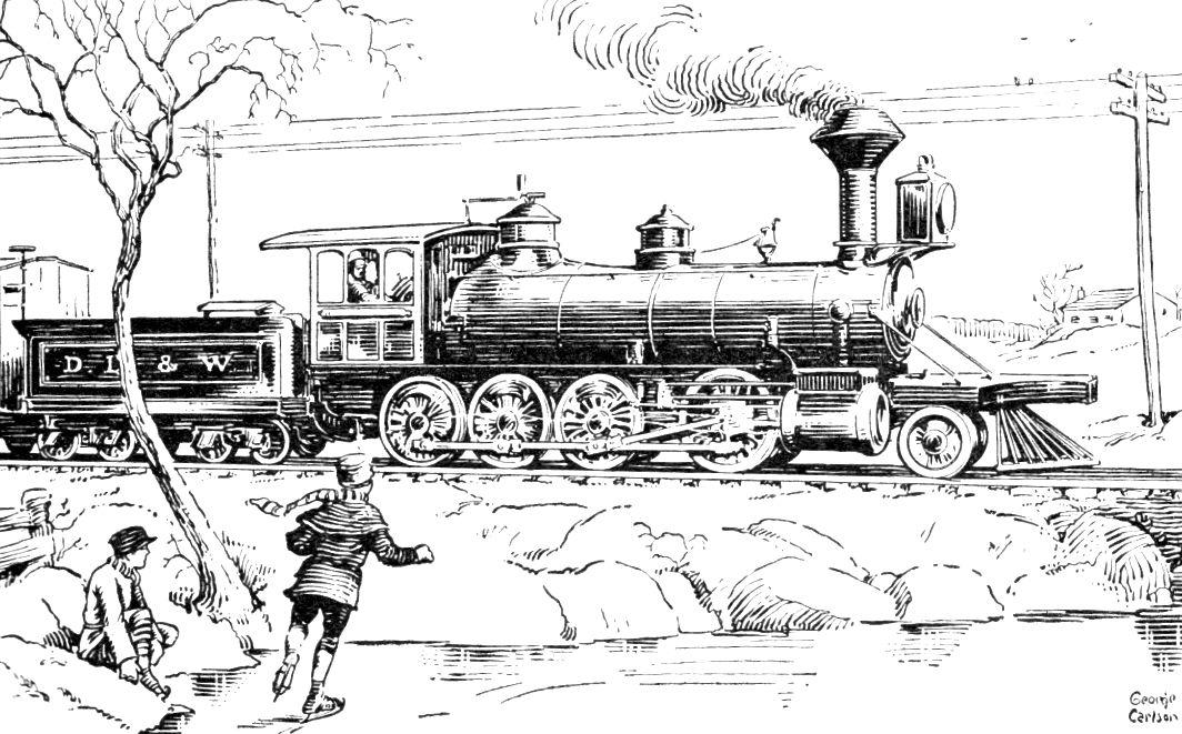 Train Train Art Vintage Printables