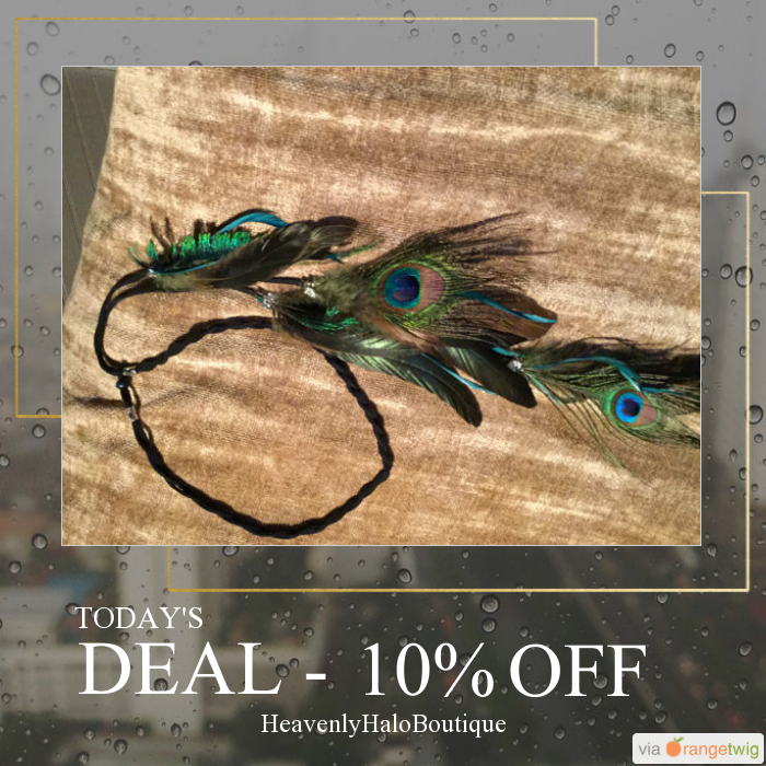 Today Only! 10% OFF this item.  Follow us on Pinterest to be the first to see our exciting Daily Deals. Today's Product: Wedding Feather headband Native American halo, trending hair accessory bridesmaid flowergirl Buy now: https://www.etsy.com/listing/219545455?utm_source=Pinterest&utm_medium=Orangetwig_Marketing&utm_campaign=Summer%20sale   #etsy #etsyseller #etsyshop #etsylove #etsyfinds #etsygifts #musthave #loveit #instacool #shop #shopping #onlineshopping #instashop #instagood…