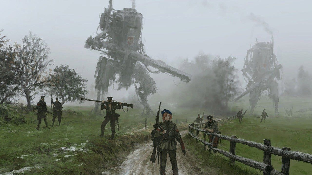Iron Harvest Preview Bringing Back The Classic Rts Campaign Ign Apocalypse Aesthetic Dieselpunk Company Of Heroes