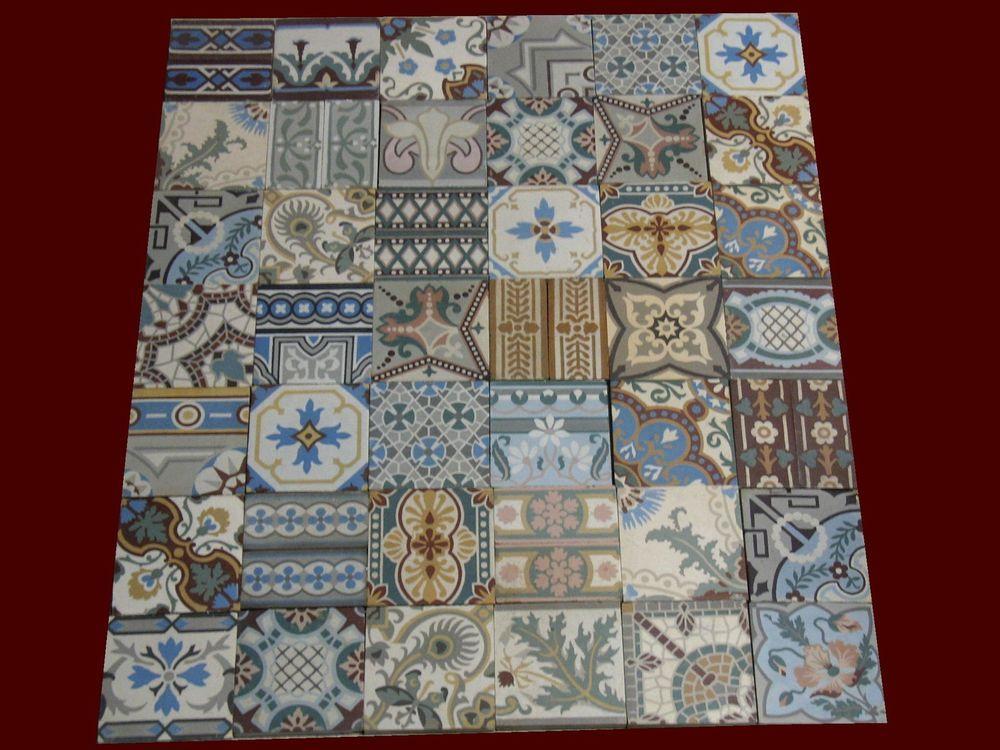 patchwork 42 alte fliesen keramik zwischen 1850 und 1920 k che pinterest fliesen alte. Black Bedroom Furniture Sets. Home Design Ideas
