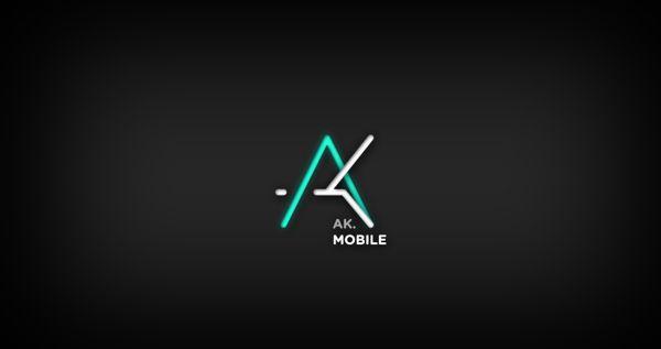 Loghi mobili ~ Ak mobile by gonçalo leite via behance design pinterest