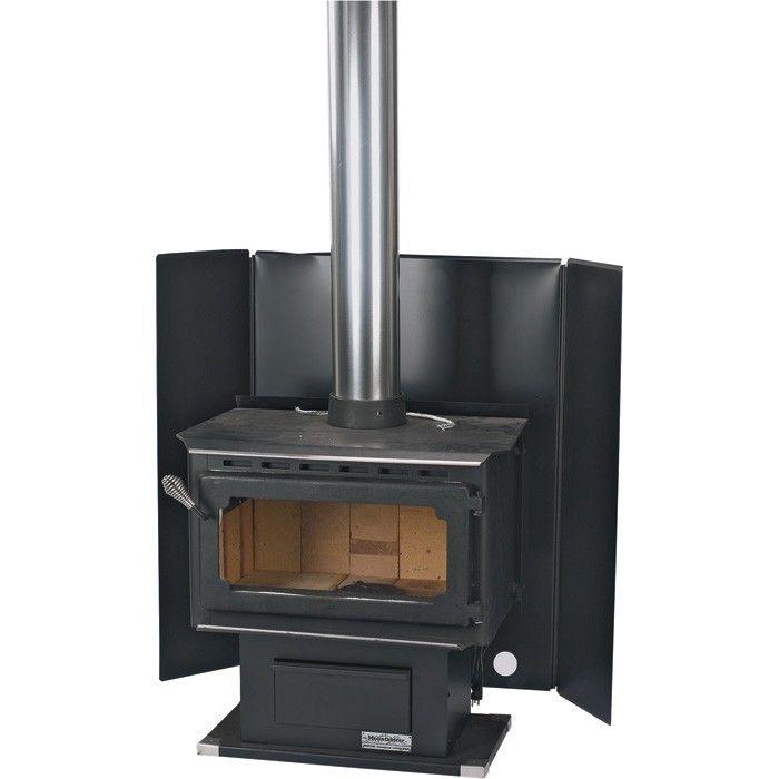 Sbi Freestanding Wood Stove Heat Shield Ac05555 Wood