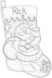 Resultado de imagen para moldes de botas navideñas bucilla