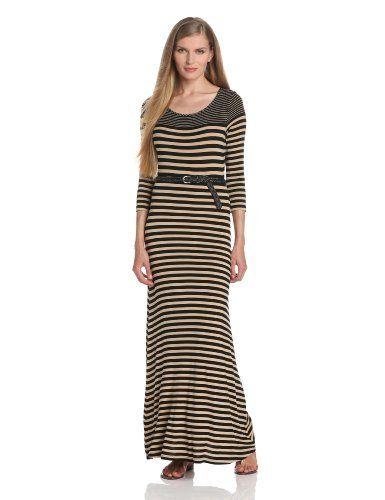 Calvin Klein Women's Long Sleeve Maxi Dress With Belt, http://www.amazon.com/dp/B00CJGCYMA/ref=cm_sw_r_pi_awd_xDVysb1K4N5VK