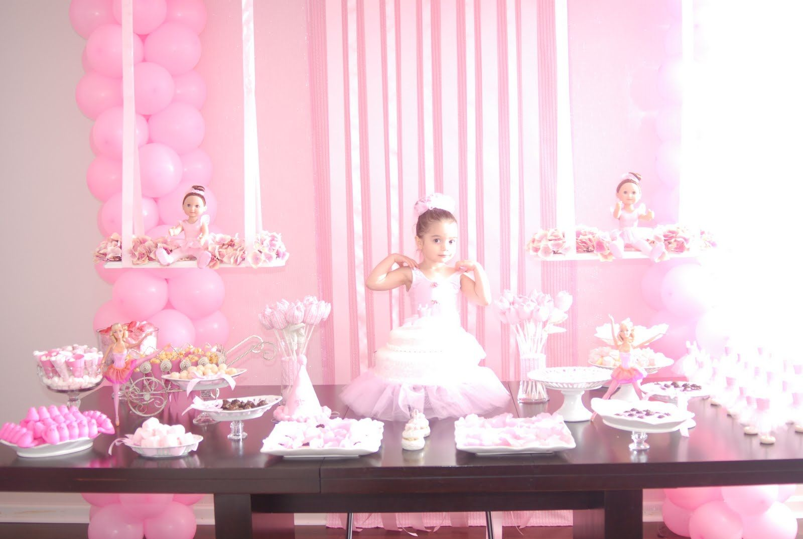 Ballet party decor google search ballerina pinterest for Ballerina party decoration