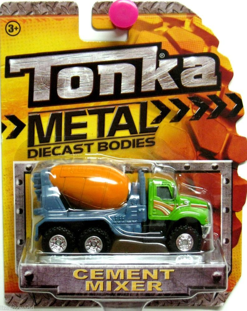 Tanker Truck TONKA 2012 Metal Diecast Bodies Realistic Tires 1/64 Scale