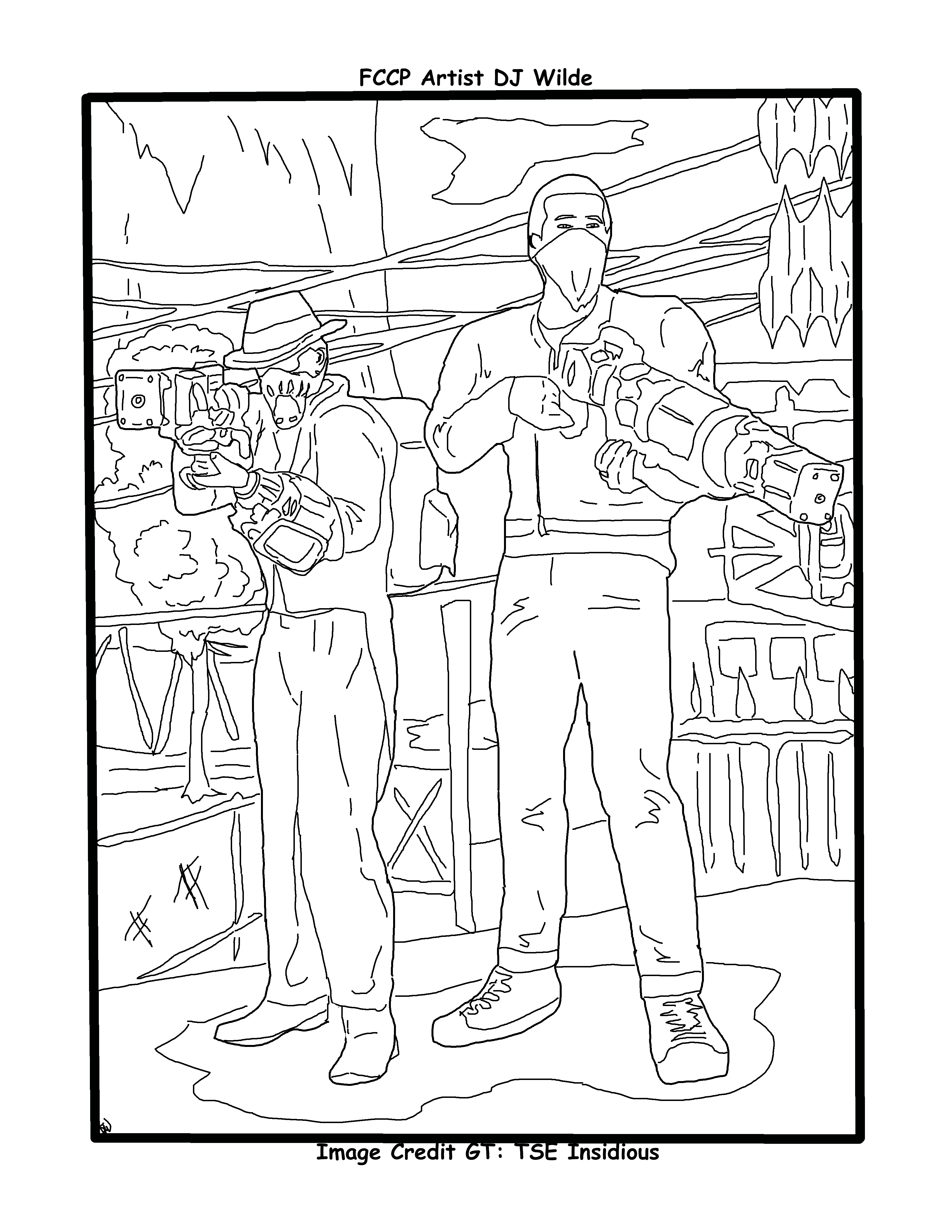 Fallout 76 Laser Guys Coloring Page Coloring Pages Color Diagram [ 4400 x 3400 Pixel ]