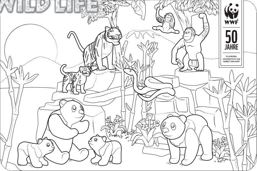 ausmalbilder playmobil zoo | ausmalbilder, kostenlose