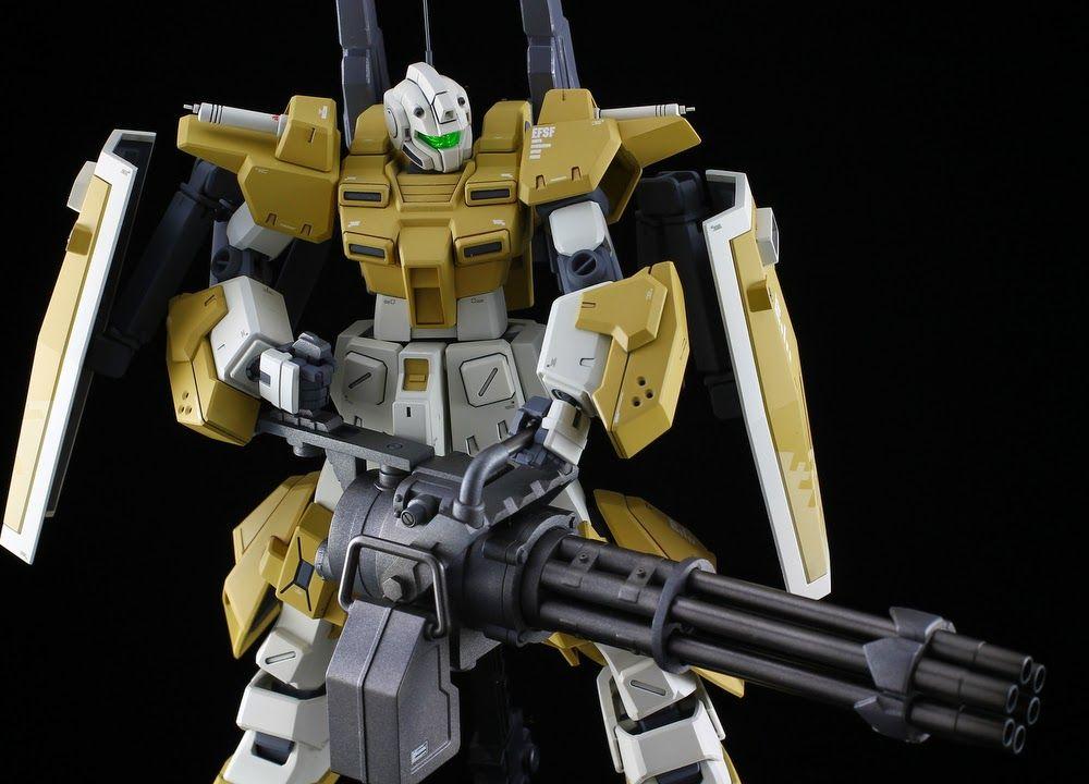 Gundam Guy Hg 1 144 Powered Gm Cardigan Customized Build