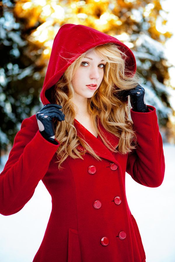 Definitely need THIS red coat. No idea where to buy it and ...