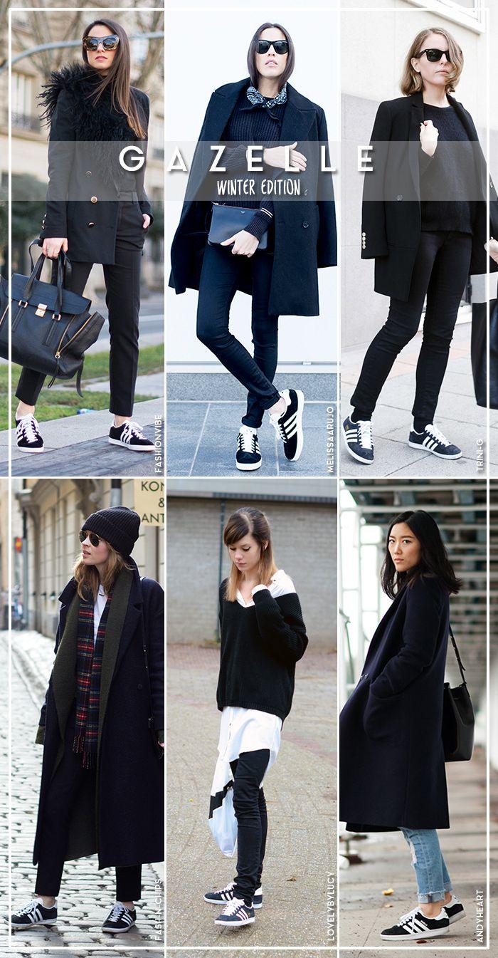 0e711cede17 Six Ways to Wear adidas Gazelle (Blue is in Fashion this Year ...
