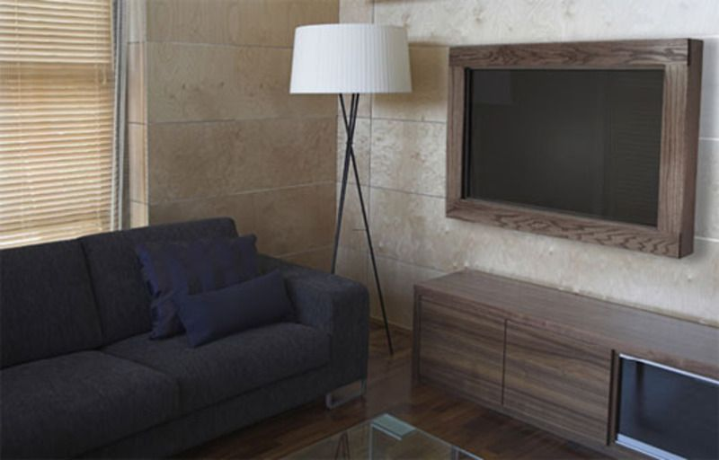 18 chic and modern tv wall mount ideas for living room | tv frames