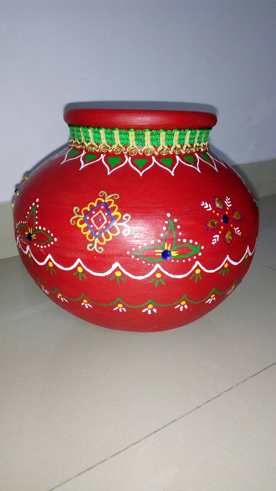 Pin by KarunaSree Amarapalli on Decorative pots Pot