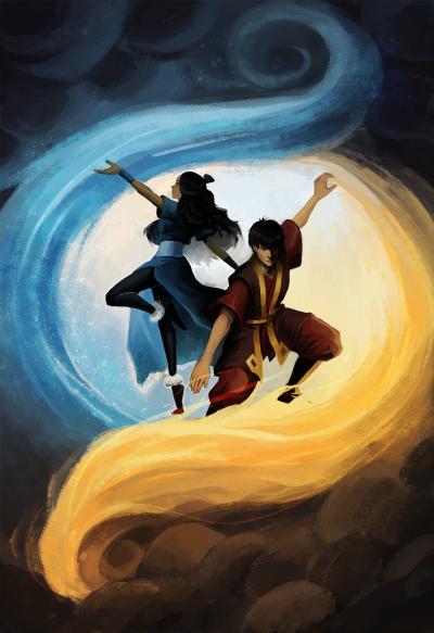 Geitenkaas Avatar Zuko Zutara Avatar The Last Airbender Art
