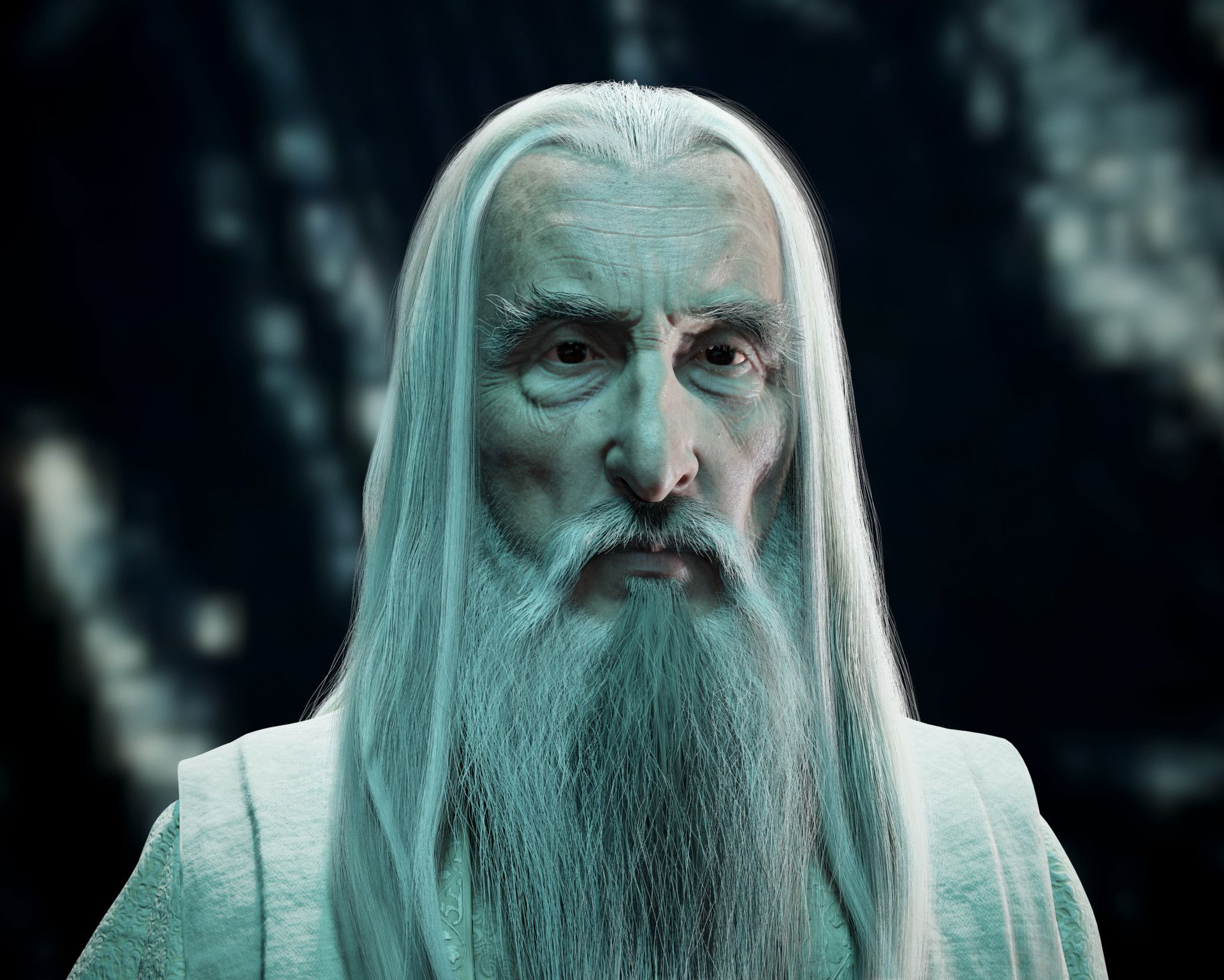 Artstation Saruman The White Kamil Trocinski Lord Of The Rings The Hobbit The Uncanny
