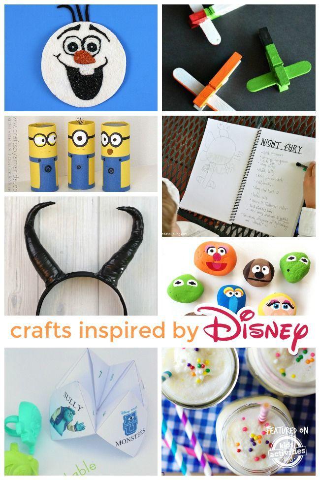 55 Disney Crafts Disney Arts And Crafts Disney Crafts For Kids