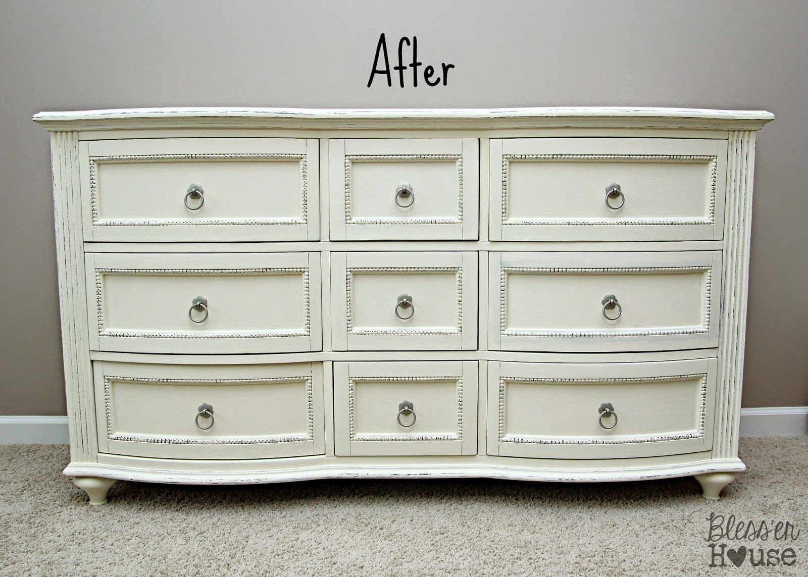 Little Girl Room Progress: ASCP Dresser Makeover