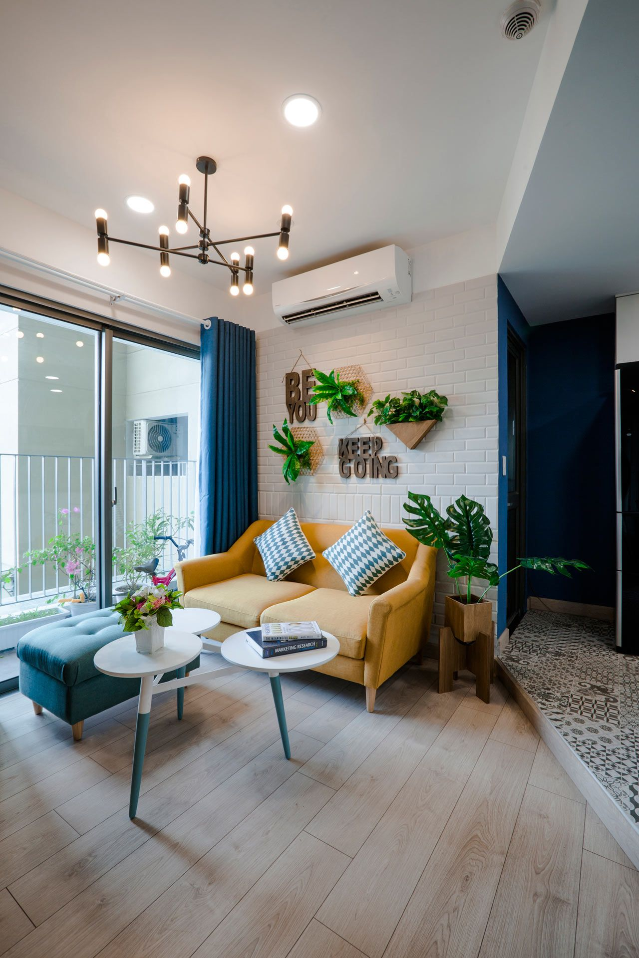 Toki Home Transforms An Apartment In Vietnam With Color Condo