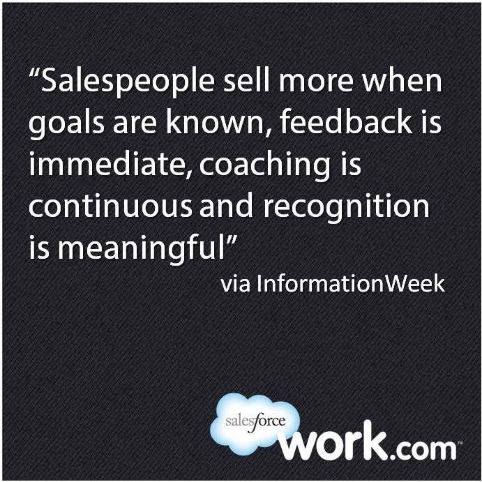 Sales Team Motivational Quotes: Salesforce.com Motivates Sales Teams With Work.com