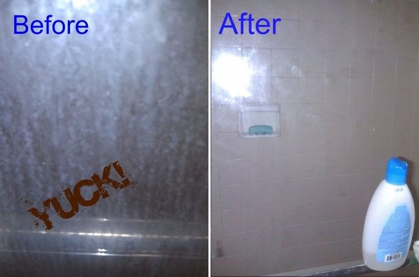 Rain X Keeps Porcelain Tubs And Gl Shower Doors Clean For