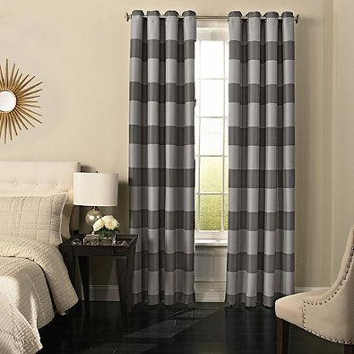 Beautyrest® Gaultier Grommeted Blackout Window Curtain Panel Caleb