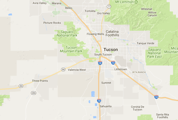 Tucson, AZ neighborhood Map - Best and Worst Neighborhoods | Arizona ...
