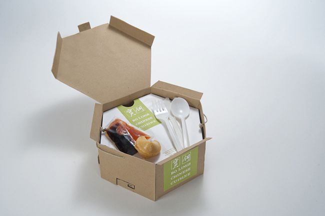 Eco-Friendly Chinese Take-Out on Packaging of the World - Creative Package Design Gallery