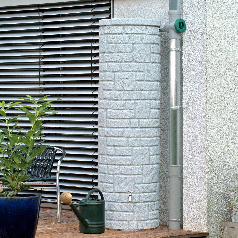 regenwassertank oberirdisch arcado 460 l granit | pinterest