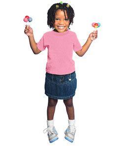 Rabbit Skins - Toddler Short Sleeve T-Shirt - 3301T Flamingo