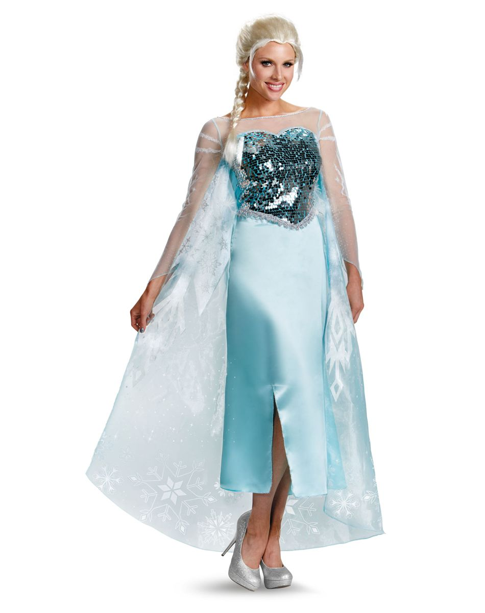 Frozen Elsa Adult Womens Costume at Spirit Halloween - Everyone ...
